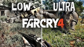 Far Cry 4 Graphics Comparison PC Gameplay [Ultra / Low]