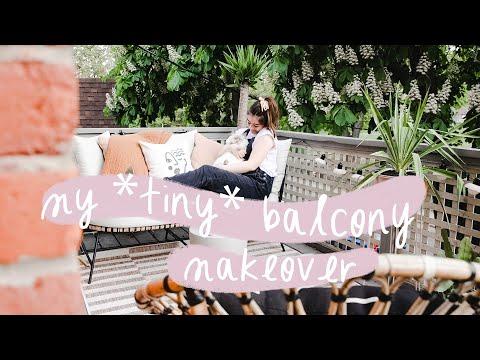 Tiny, Renter-Friendly Balcony Makeover! | My Rental Reno S3 E2