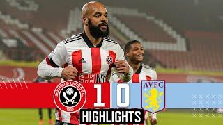Premier League Highlights | Sheffield United 1-0 Aston Villa | McGoldrick goal & Jagielka Red Card