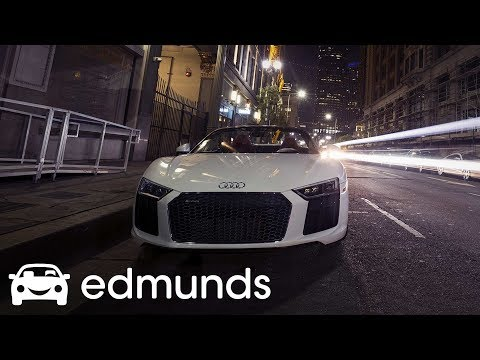 2017 Audi R8 Spyder   A Night Out With the V10