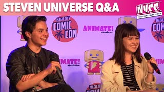 Steven Universe Q&A with Zach Callison and Grace Rolek at Animate Miami 2015