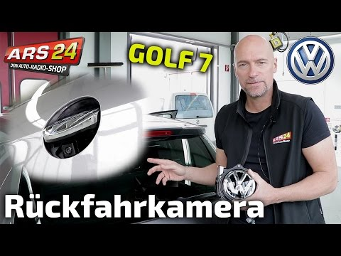 Installing reversing camera in VW Golf 7 | Tutorial | Kufatec 39634 | ARS24