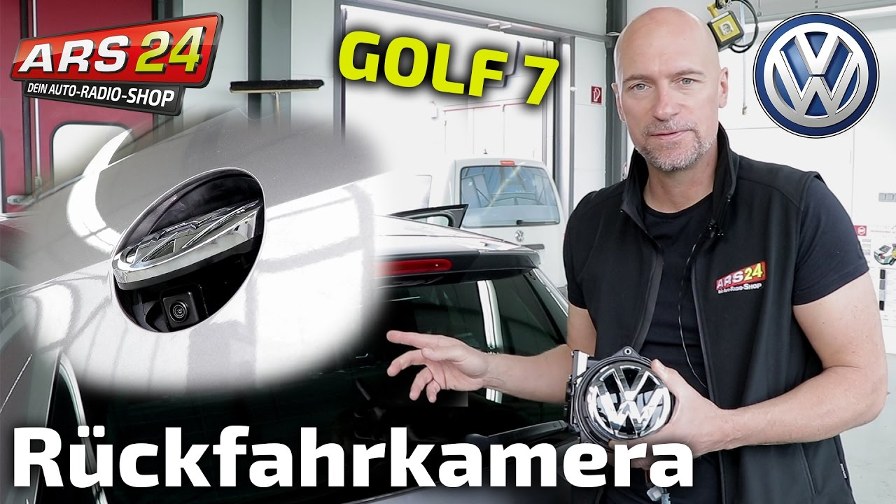 r ckfahrkamera in vw golf 7 einbauen tutorial kufatec 39634 ars24 youtube. Black Bedroom Furniture Sets. Home Design Ideas
