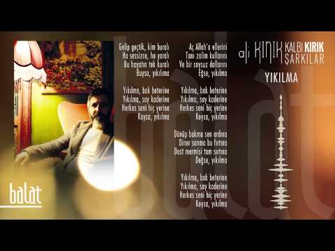 Ali Kınık - Yıkılma (Official Lyric Video)