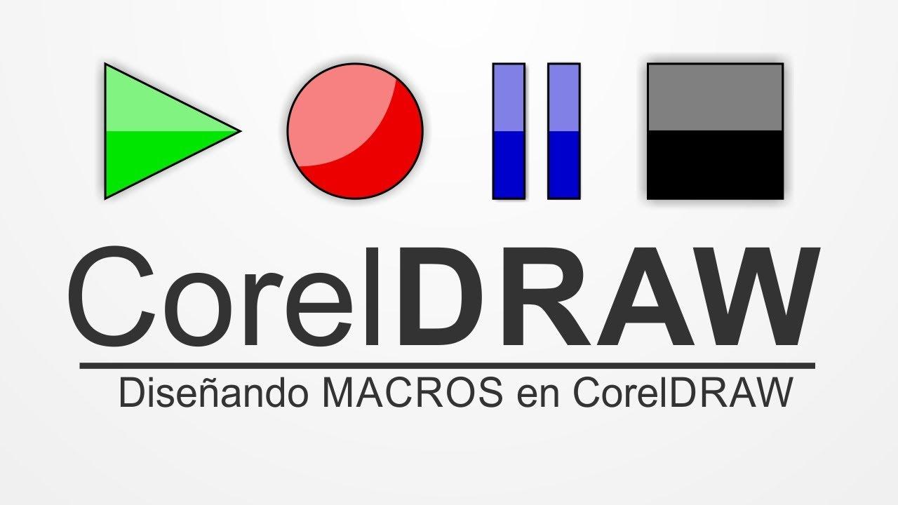 CorelDRAW, Macros, Entendiendo y diseñando las Macros en CorelDRAW atajos  X4, X5, X6 @ADNDC @adanJP