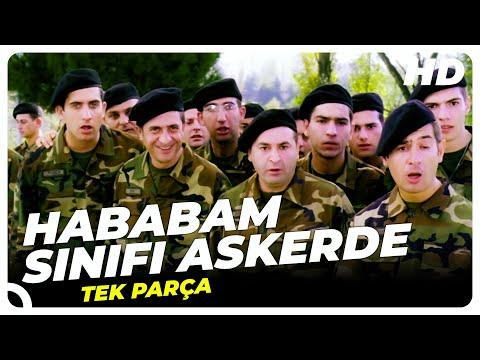 Hababam Sınıfı Askerde   Şafak Sezer Türk Komedi Filmi Tek Parça (HD)