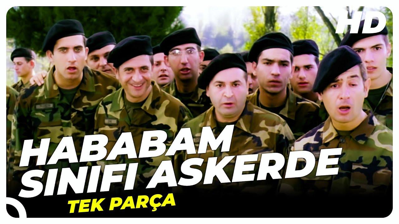 Hababam Sınıfı Askerde | Şafak Sezer Türk Komedi Filmi Tek Parça (HD)