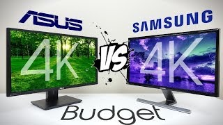 ASUS (PB287Q) vs SAMSUNG (U28D590D) - 4K Monitor Comparison (Which is Best?)