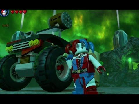 LEGO Batman 3 - Harley Quinn (The Squad) Free Roam Gameplay + Hammer ...