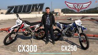 Обзор эндуро мотоцикла ZUUM CX300 в алюминиевой раме