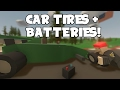 Car Tires and Batteries Explained! | Unturned Update 3.17.16.0