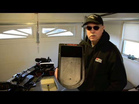 How To Install A Recessed Trolling Motor Foot Pedal In A Bass Boat