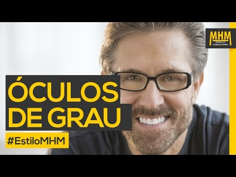 6eff5be23 Óculos de grau masculino #EstiloMHM - YouTube