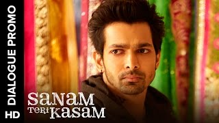 Download Hindi Video Songs - Inder is an angry lover | Sanam Teri Kasam | Dialogue Promo