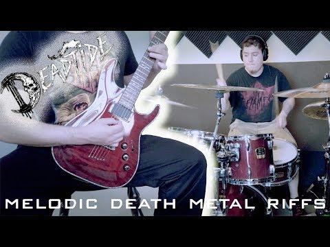 DEADTIDE - New Melodic Death Metal 2018 Instrumental Guitar Riffs