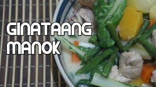 Ginataang Manok Recipe - Tagalog Filipino Chicken