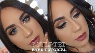 Sculpted Eyes Tutorial - Anastasia Beverly Hills Soft Glam Palette