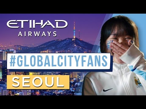 David Silva assists delivery of baby in Seoul?! Man City fans in Korea | #GlobalCityFans
