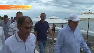 Мэр Сочи пляжам Лазаревского района дал 5 дней на благоустройство