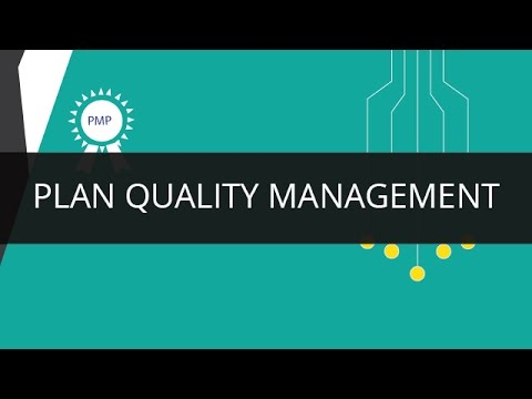 plan quality management pmp edureka youtube