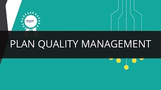 Plan Quality Management | PMP | Edureka