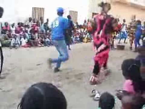 St Louis Senegal Simba dance