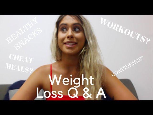 WEIGHT LOSS Q & A || Ariella Nyssa