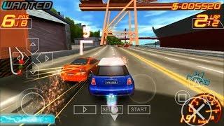 Asphalt - Urban GT 2 PSP Gameplay   PPSSPP Emulator Android 2017 HD