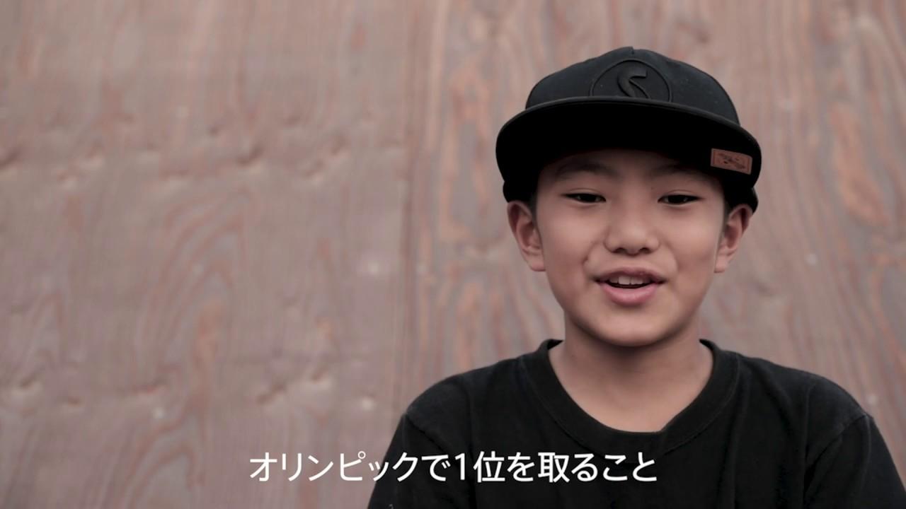 12歳のBMXライダー 小澤 楓