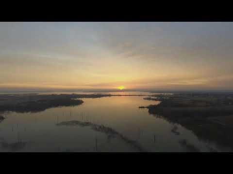Sunrise at Lake Ellsworth