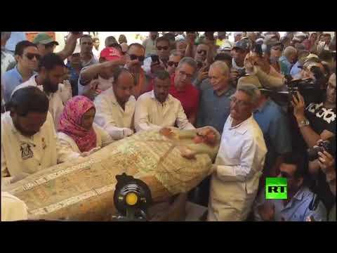 مصر.. أكبر اكتشاف أثري للتوابيت الفرعونية الملونة  - نشر قبل 3 ساعة