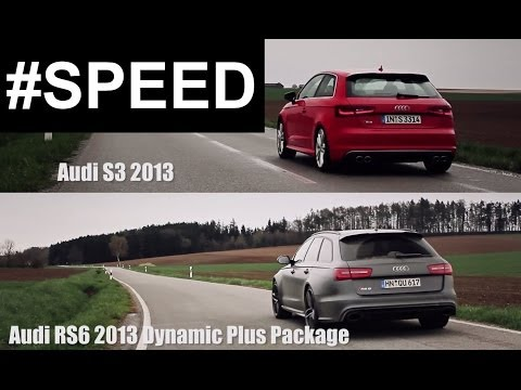 The difference between an Audi S3 and Audi RS6 Avant (2013)