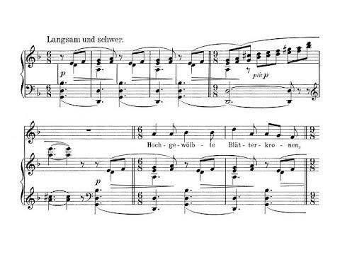 Wagner: Wesendonck-Lieder - 3. Im Treibhaus - Westbroek (Jansons, live)