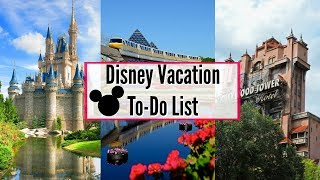 DISNEY WORLD PLANNING TIPS 2019! |  WHAT TO DO BEFORE DISNEY | DISNEY WORLD TO-DO LIST