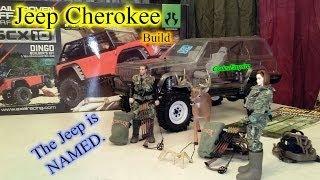 CodesEmpire - Axial SCX10 Jeep Cherokee / Dingo Build - Part 2