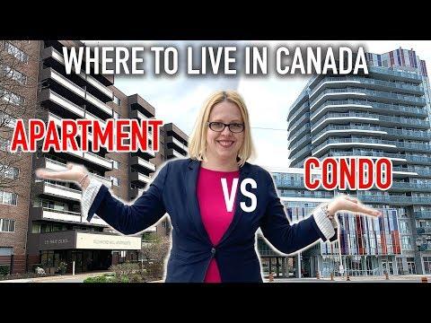 Living In Canada   What To Rent Apartment Or Condominium?