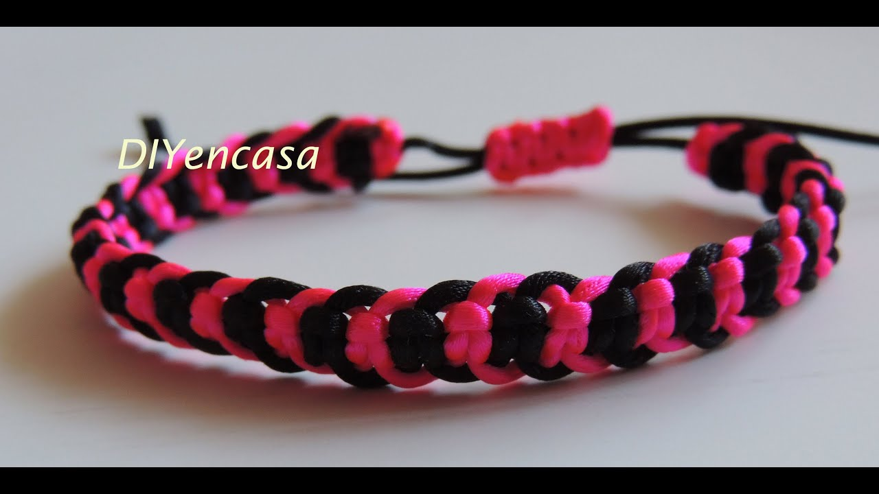 Bracelet friendship tutorial