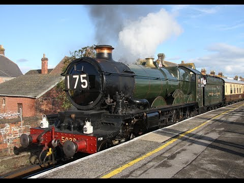 2010 PLENTY OF MAINLINE STEAM TRAINS - BATH AND BEYOND - Part 2