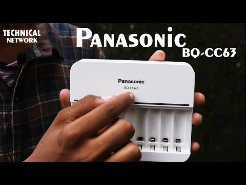 Panasonic Battery Charger BQ-CC63   Battery Charger Review In Hindi   Technical Network