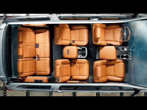 2020 Toyota Sequoia INTERIOR - Great Full Size SUV for USA !