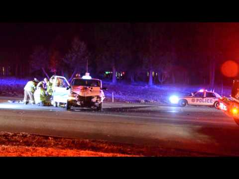 Taxi and Nevada City Police Car022514