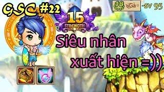 [Gunny mobi] GSC#22 - Lv18 cầm vũ khí +15 thách thức các dân chơi :)) - ๖ۣۜGà - sv 95 gà Ảo