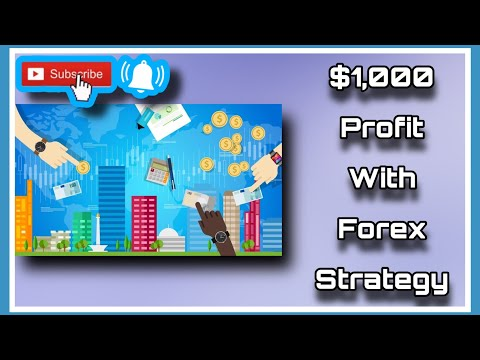 Over $1,000 Profit with Forex Weekly Market Strategy