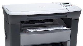 Full details for HP LaserJet M1005 multifunction monochrome laser printer .