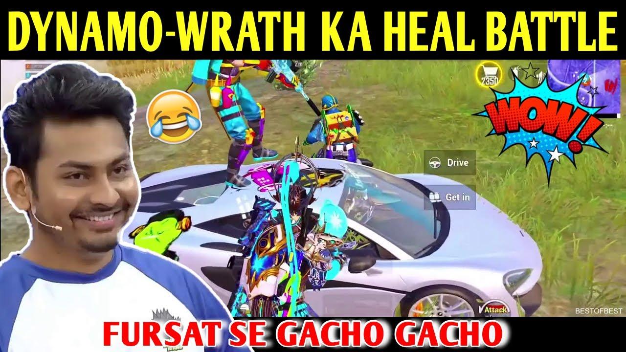 DYNAMO - HYDRA WRATH KA HEAL BATTLE   BATTLEGROUNDS MOBILE INDIA   BEST OF BEST