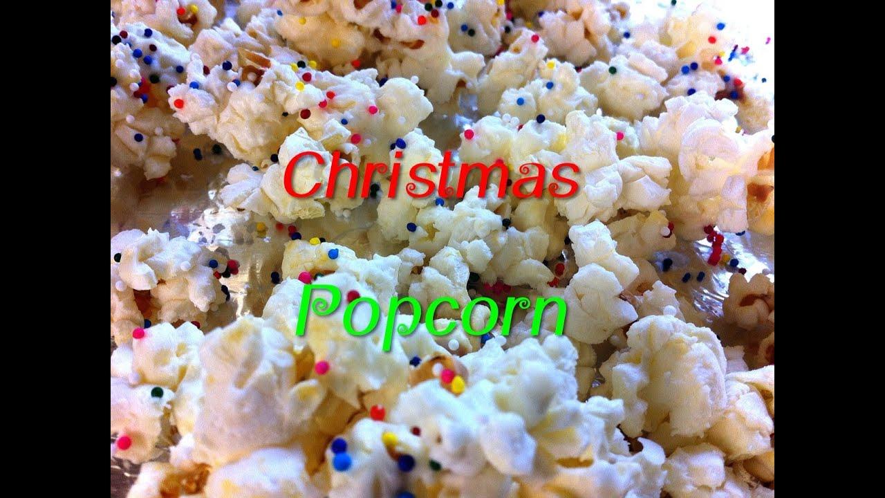 christmas popcorn day 7 12 diys of christmas recipe diy keepingupwithashlyn youtube