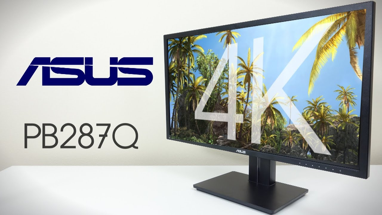 ASUS 28 4K Monitor  Unboxing  Overview PB287Q  YouTube