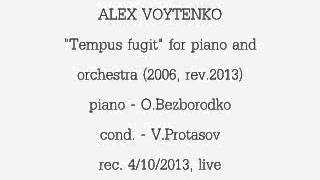 """Tempus Fugit"" for piano and orchestra (2007, rev.2013)."