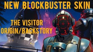 THE STORY ABOUT THE VISITOR NEW BLOCKBUSTER SKIN, ORIGIN/BACKSTORY – Fortnite Short Film