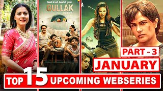 Top 15 Upcoming Web Series and Movies in January 2021 (Part-3 ) | Netflix | Amazon Prime | Hotstar